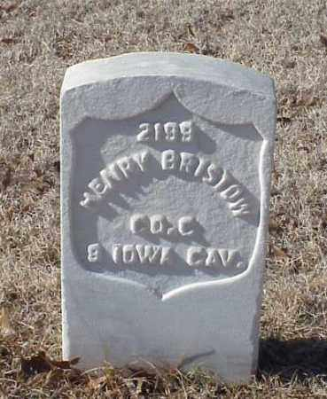 BRISTOW (VETERAN UNION), HENRY - Pulaski County, Arkansas | HENRY BRISTOW (VETERAN UNION) - Arkansas Gravestone Photos