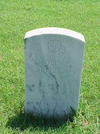 BRITT, JR (VETERAN 2 WARS), OLIN - Pulaski County, Arkansas | OLIN BRITT, JR (VETERAN 2 WARS) - Arkansas Gravestone Photos