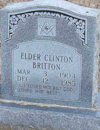 BRITTON ELDER, CLINTON - Pulaski County, Arkansas | CLINTON BRITTON ELDER - Arkansas Gravestone Photos