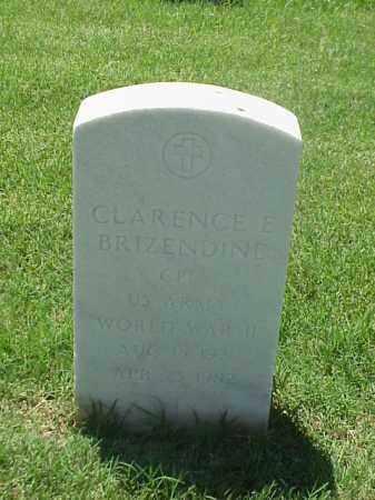 BRIZENDINE (VETERAN WWII), CLARENCE E - Pulaski County, Arkansas | CLARENCE E BRIZENDINE (VETERAN WWII) - Arkansas Gravestone Photos