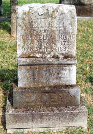 BRODIE, DAISY - Pulaski County, Arkansas | DAISY BRODIE - Arkansas Gravestone Photos
