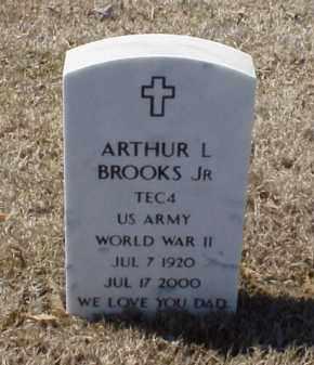 BROOKS, JR (VETERAN WWII), ARTHUR L - Pulaski County, Arkansas | ARTHUR L BROOKS, JR (VETERAN WWII) - Arkansas Gravestone Photos