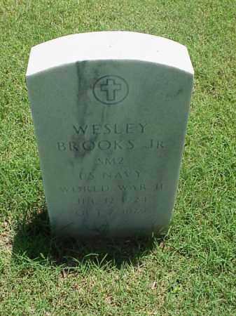 BROOKS, JR (VETERAN WWII), WESLEY - Pulaski County, Arkansas | WESLEY BROOKS, JR (VETERAN WWII) - Arkansas Gravestone Photos
