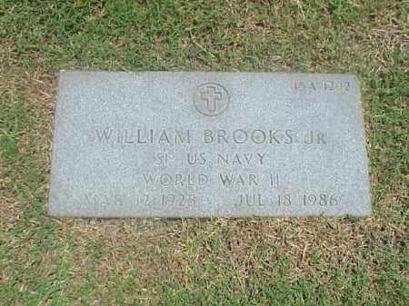 BROOKS, JR (VETERAN WWII), WILLIAM - Pulaski County, Arkansas | WILLIAM BROOKS, JR (VETERAN WWII) - Arkansas Gravestone Photos