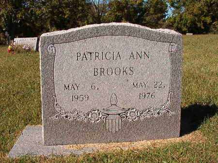 BROOKS, PATRICIA ANN - Pulaski County, Arkansas | PATRICIA ANN BROOKS - Arkansas Gravestone Photos