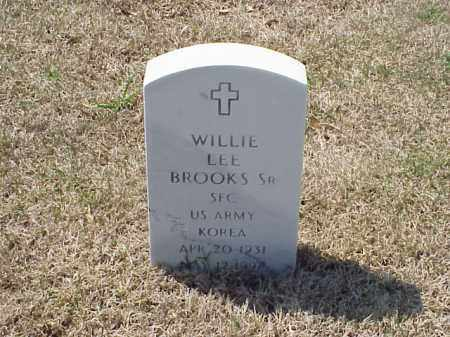 BROOKS, SR (VETERAN KOR), WILLIE LEE - Pulaski County, Arkansas   WILLIE LEE BROOKS, SR (VETERAN KOR) - Arkansas Gravestone Photos