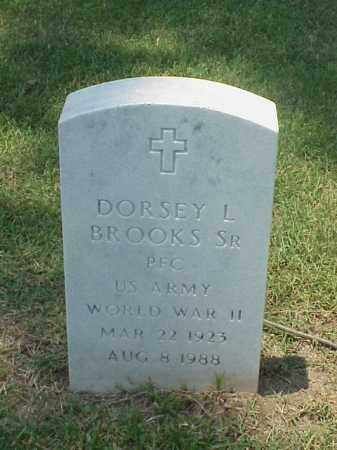 BROOKS, SR (VETERAN WWII), DORSEY L - Pulaski County, Arkansas | DORSEY L BROOKS, SR (VETERAN WWII) - Arkansas Gravestone Photos