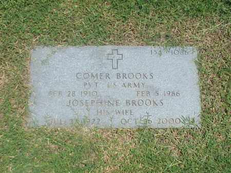 BROOKS (VETERAN WWII), COMER - Pulaski County, Arkansas | COMER BROOKS (VETERAN WWII) - Arkansas Gravestone Photos