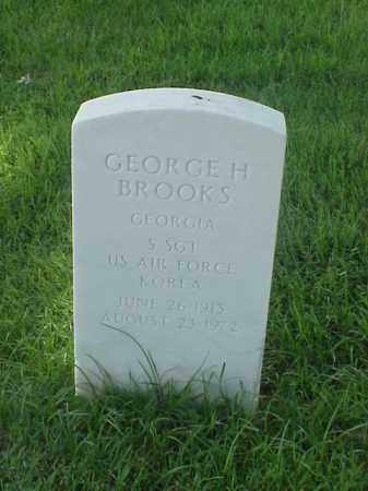 BROOKS (VETERAN KOR), GEORGE H - Pulaski County, Arkansas | GEORGE H BROOKS (VETERAN KOR) - Arkansas Gravestone Photos