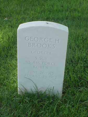 BROOKS (VETERAN KOR), GEORGE H - Pulaski County, Arkansas | GEORGE H BROOKS (VETERAN KOR) - Arkansas Gravestone Photos