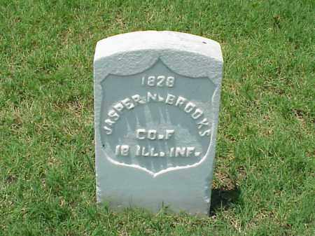 BROOKS (VETERAN UNION), JASPER N - Pulaski County, Arkansas | JASPER N BROOKS (VETERAN UNION) - Arkansas Gravestone Photos