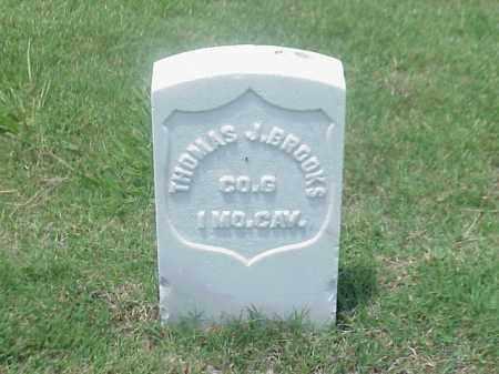 BROOKS (VETERAN UNION), THOMAS J - Pulaski County, Arkansas | THOMAS J BROOKS (VETERAN UNION) - Arkansas Gravestone Photos