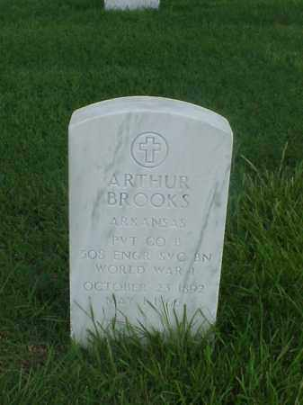 BROOKS (VETERAN WWI), ARTHUR - Pulaski County, Arkansas | ARTHUR BROOKS (VETERAN WWI) - Arkansas Gravestone Photos