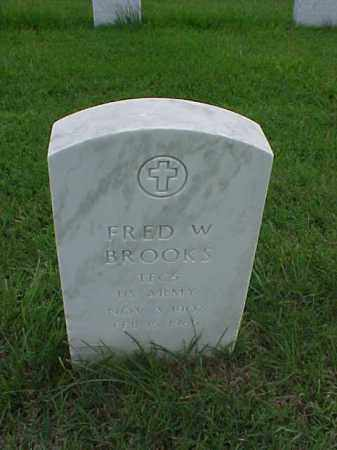 BROOKS (VETERAN WWII), FRED W - Pulaski County, Arkansas | FRED W BROOKS (VETERAN WWII) - Arkansas Gravestone Photos