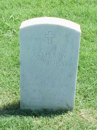 BROOKS (VETERAN WWII), JAMES W - Pulaski County, Arkansas | JAMES W BROOKS (VETERAN WWII) - Arkansas Gravestone Photos