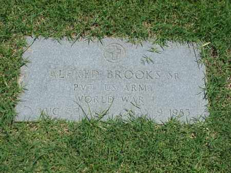 BROOKS, SR (VETERAN WWI), ALFRED - Pulaski County, Arkansas | ALFRED BROOKS, SR (VETERAN WWI) - Arkansas Gravestone Photos