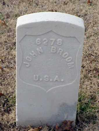 BROOM (VETERAN UNION), JOHN - Pulaski County, Arkansas | JOHN BROOM (VETERAN UNION) - Arkansas Gravestone Photos
