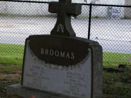 BROOMAS, SPIRO D - Pulaski County, Arkansas | SPIRO D BROOMAS - Arkansas Gravestone Photos