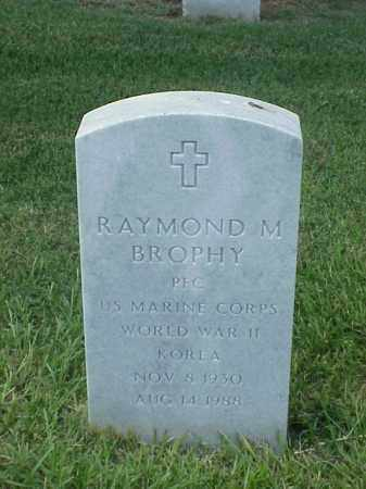 BROPHY (VETERAN 2 WARS), RAYMOND M - Pulaski County, Arkansas | RAYMOND M BROPHY (VETERAN 2 WARS) - Arkansas Gravestone Photos