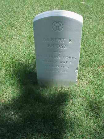 BROSZ (VETERAN WWI), ALBERT E - Pulaski County, Arkansas | ALBERT E BROSZ (VETERAN WWI) - Arkansas Gravestone Photos