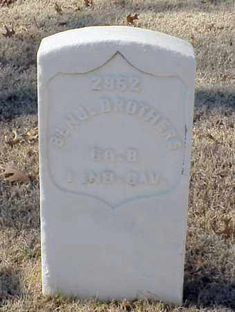 BROTHERS (VETERAN UNION), BENJAMIN - Pulaski County, Arkansas | BENJAMIN BROTHERS (VETERAN UNION) - Arkansas Gravestone Photos