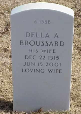 BROUSSARD, DELLA A - Pulaski County, Arkansas | DELLA A BROUSSARD - Arkansas Gravestone Photos
