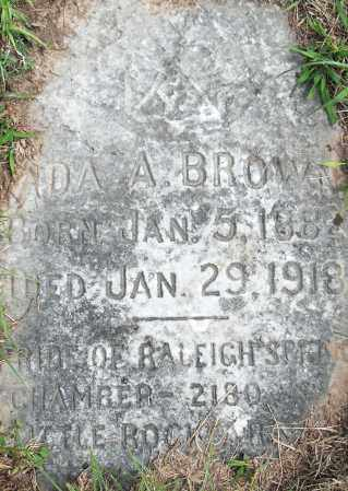 BROWN, ADA A - Pulaski County, Arkansas | ADA A BROWN - Arkansas Gravestone Photos