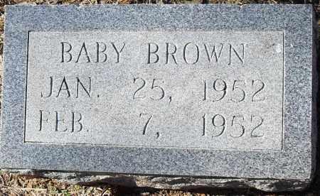 BROWN, BABY - Pulaski County, Arkansas | BABY BROWN - Arkansas Gravestone Photos