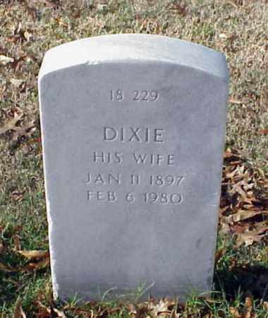 BROWN, DIXIE - Pulaski County, Arkansas | DIXIE BROWN - Arkansas Gravestone Photos