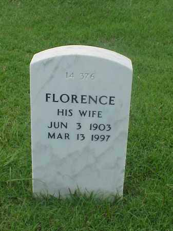 BROWN, FLORENCE - Pulaski County, Arkansas | FLORENCE BROWN - Arkansas Gravestone Photos