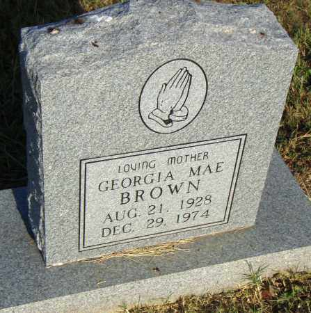 BROWN, GEORGIA MAE - Pulaski County, Arkansas | GEORGIA MAE BROWN - Arkansas Gravestone Photos
