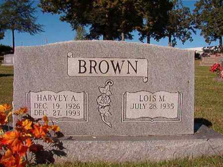 BROWN, HARVEY A - Pulaski County, Arkansas | HARVEY A BROWN - Arkansas Gravestone Photos