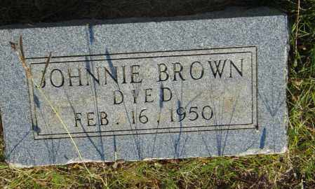 BROWN, JOHNNIE - Pulaski County, Arkansas | JOHNNIE BROWN - Arkansas Gravestone Photos