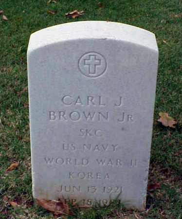 BROWN, JR (VETERAN 2 WARS), CARL J - Pulaski County, Arkansas | CARL J BROWN, JR (VETERAN 2 WARS) - Arkansas Gravestone Photos