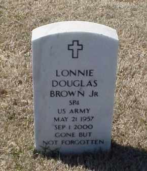 BROWN, JR (VETERAN), LONNIE DOUGLAS - Pulaski County, Arkansas | LONNIE DOUGLAS BROWN, JR (VETERAN) - Arkansas Gravestone Photos