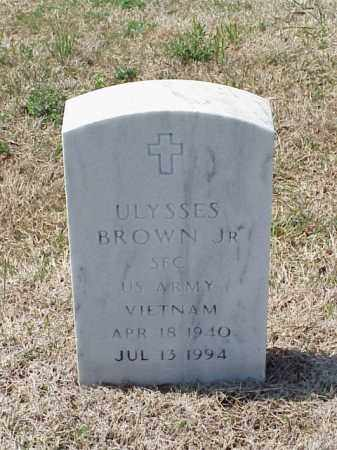 BROWN, JR (VETERAN VIET), ULYSSES - Pulaski County, Arkansas | ULYSSES BROWN, JR (VETERAN VIET) - Arkansas Gravestone Photos