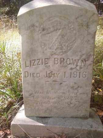 BROWN, LIZZIE - Pulaski County, Arkansas | LIZZIE BROWN - Arkansas Gravestone Photos