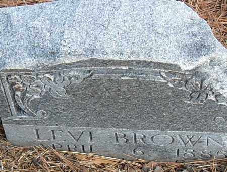 BROWN, LEVI - Pulaski County, Arkansas | LEVI BROWN - Arkansas Gravestone Photos