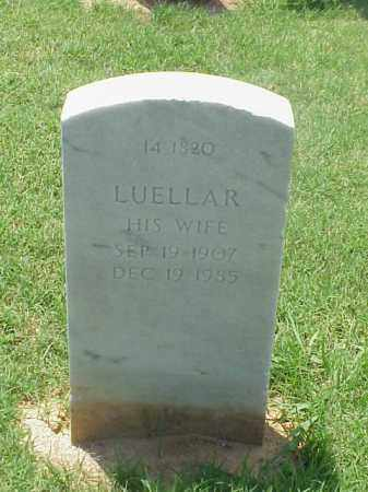 BROWN, LUELLAR - Pulaski County, Arkansas | LUELLAR BROWN - Arkansas Gravestone Photos