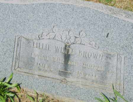 BROWN, LILLIE - Pulaski County, Arkansas | LILLIE BROWN - Arkansas Gravestone Photos