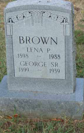 BROWN, SR., GEORGE - Pulaski County, Arkansas | GEORGE BROWN, SR. - Arkansas Gravestone Photos