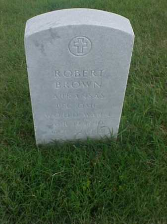 BROWN (VETERAN WWI), ROBERT - Pulaski County, Arkansas | ROBERT BROWN (VETERAN WWI) - Arkansas Gravestone Photos
