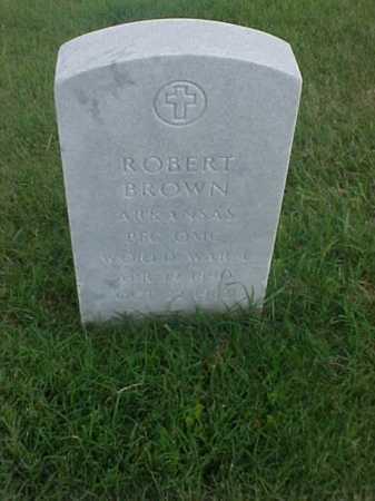 BROWN (VETERAN WWI), ROBERT - Pulaski County, Arkansas   ROBERT BROWN (VETERAN WWI) - Arkansas Gravestone Photos