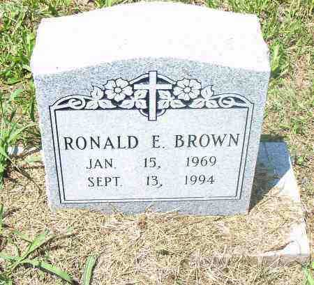 BROWN, RONALD, E. - Pulaski County, Arkansas | RONALD, E. BROWN - Arkansas Gravestone Photos