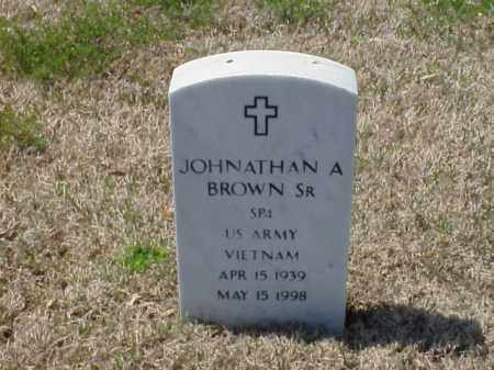 BROWN, SR (VETERAN VIET), JOHNATHAN A - Pulaski County, Arkansas | JOHNATHAN A BROWN, SR (VETERAN VIET) - Arkansas Gravestone Photos