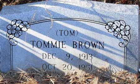 BROWN, TOMMIE (TOM) - Pulaski County, Arkansas | TOMMIE (TOM) BROWN - Arkansas Gravestone Photos