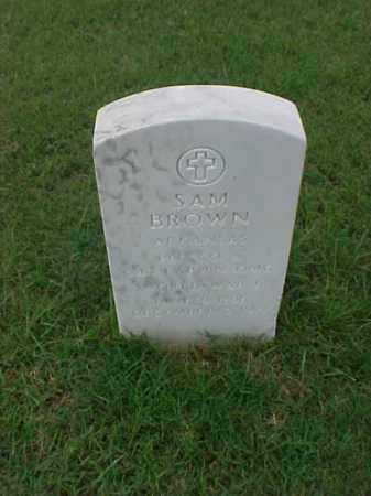 BROWN (VETERAN WWI), SAM - Pulaski County, Arkansas | SAM BROWN (VETERAN WWI) - Arkansas Gravestone Photos