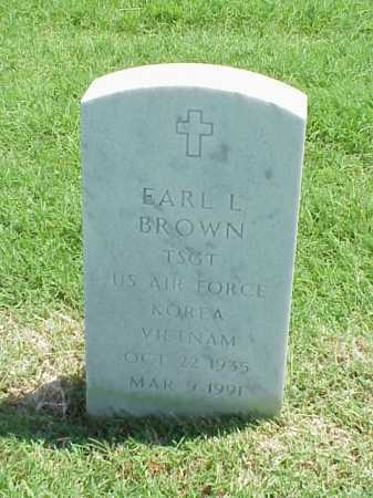 BROWN (VETERAN 2 WARS), EARL L - Pulaski County, Arkansas | EARL L BROWN (VETERAN 2 WARS) - Arkansas Gravestone Photos