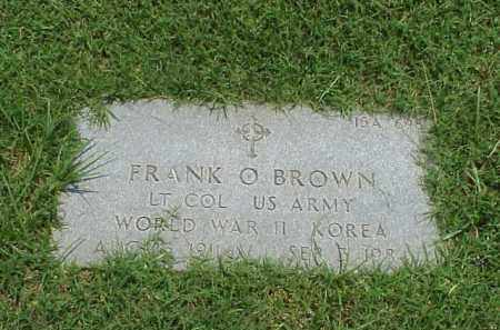 BROWN (VETERAN 2 WARS), FRANK OTTO - Pulaski County, Arkansas | FRANK OTTO BROWN (VETERAN 2 WARS) - Arkansas Gravestone Photos
