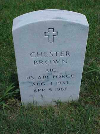BROWN (VETERAN), CHESTER - Pulaski County, Arkansas | CHESTER BROWN (VETERAN) - Arkansas Gravestone Photos
